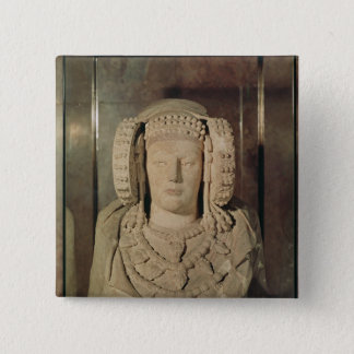 The Lady of Elche Button