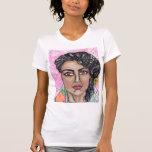 the lady of fruit and flowers tshirt