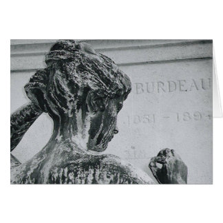 THE LADY OF PERE LA-CHAISE CARD