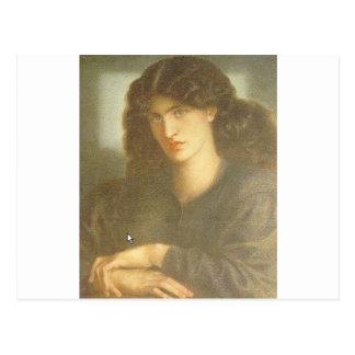 The Lady of Pity by Dante Gabriel Rossetti Postcard
