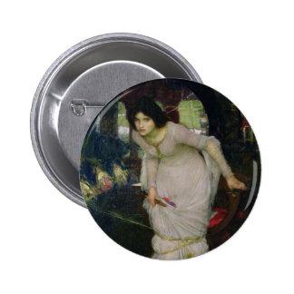 The Lady of Shallot by John Waterhouse Pin