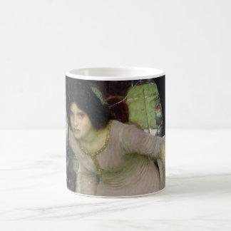 The Lady of Shallot by John Waterhouse Coffee Mug