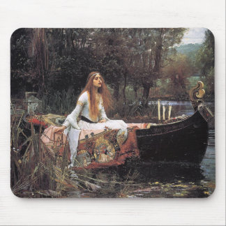 The Lady of Shalott by John W. Waterhouse Mouse Pad