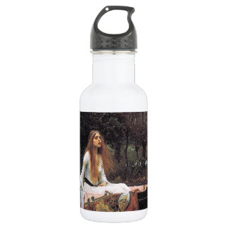 The Lady of Shalott by John W. Waterhouse Stainless Steel Water Bottle