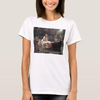 The Lady of Shalott by John W. Waterhouse T-Shirt