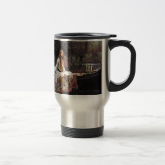 The Lady of Shalott by John W. Waterhouse Travel Mug