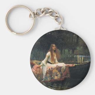 The Lady of Shalott by John William Waterhouse Key Chains