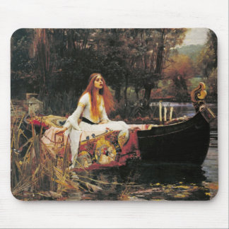 The Lady of Shalott by John William Waterhouse Mousepad
