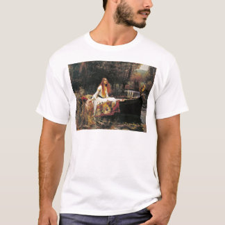 The Lady of Shalott by John William Waterhouse T-Shirt