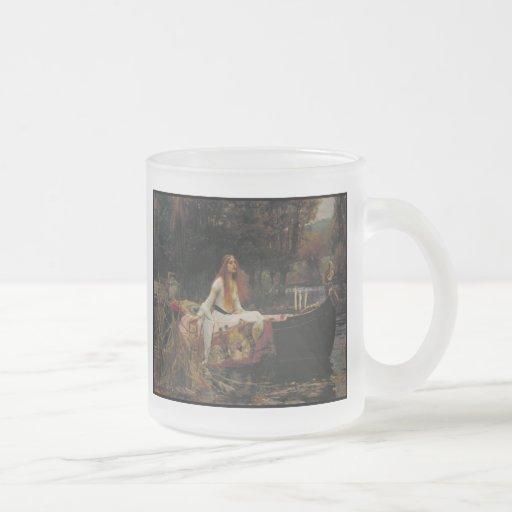 The Lady of Shalott Coffee Mugs