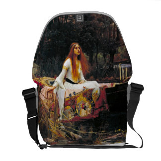 The Lady of Shalott Courier Bag