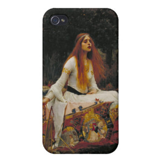 The Lady of Shalott, John William Waterhouse Covers For iPhone 4