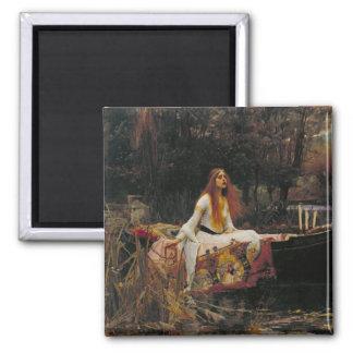 The Lady of Shalott, John William Waterhouse Refrigerator Magnets