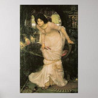 The Lady of Shalott - John William Waterhouse Poster