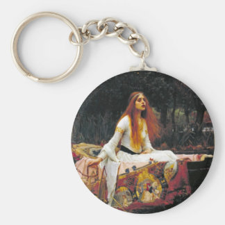 The Lady of Shalott Keychain