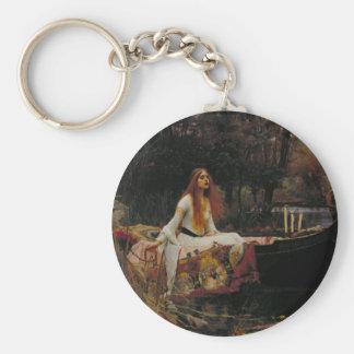 The Lady of Shalott Keychain