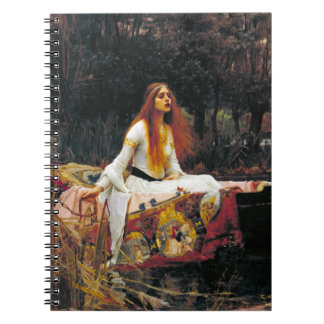 The Lady of Shalott Notebook