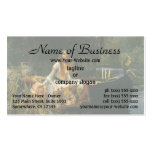 The Lady of Shalott (On Boat) by JW Waterhouse Double-Sided Standard Business Cards (Pack Of 100)