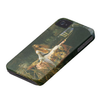 The Lady of Shalott On Boat by JW Waterhouse iPhone 4 Case-Mate Case