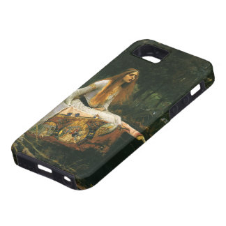 The Lady of Shalott On Boat by JW Waterhouse iPhone SE/5/5s Case