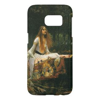 The Lady of Shalott On Boat by JW Waterhouse Samsung Galaxy S7 Case