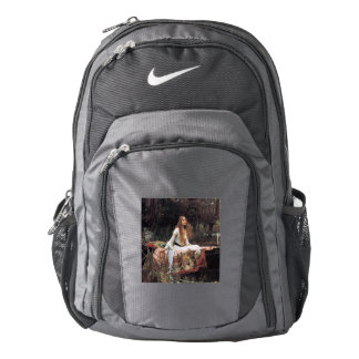 The lady of shalott painting backpack
