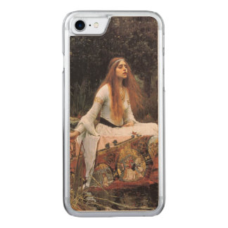 The lady of shalott painting carved iPhone 7 case