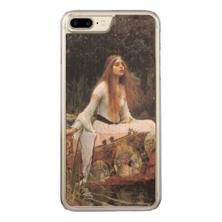 The lady of shalott painting carved iPhone 7 plus case
