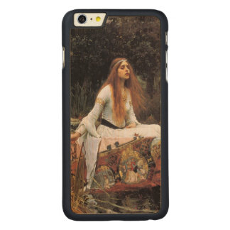 The lady of shalott painting carved® maple iPhone 6 plus slim case
