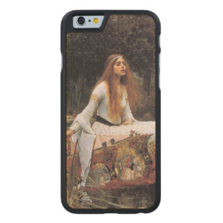 The lady of shalott painting carved® maple iPhone 6 slim case