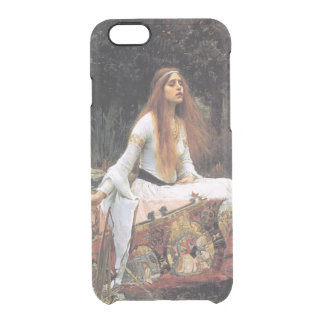 The lady of shalott painting clear iPhone 6/6S case