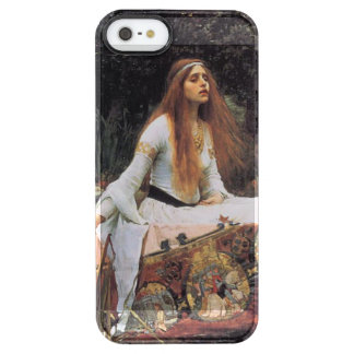 The lady of shalott painting clear iPhone SE/5/5s case