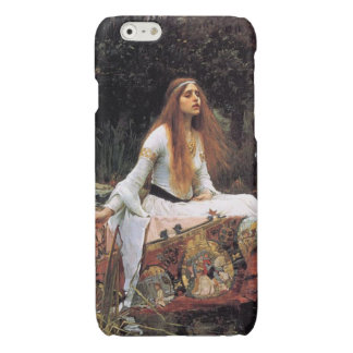 The lady of shalott painting glossy iPhone 6 case