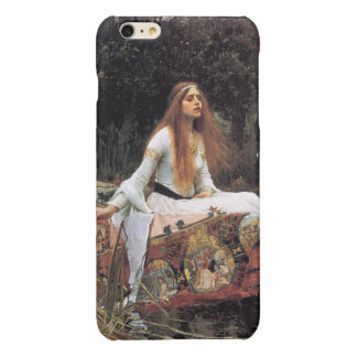 The lady of shalott painting glossy iPhone 6 plus case