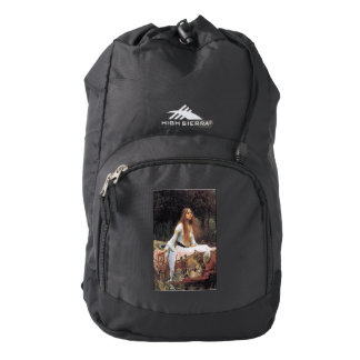 The lady of shalott painting high sierra backpack