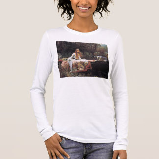 The lady of shalott painting long sleeve T-Shirt