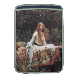 The lady of shalott painting MacBook sleeves