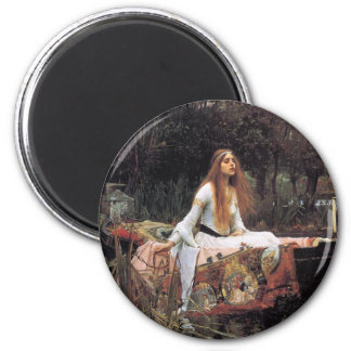 The lady of shalott painting magnet