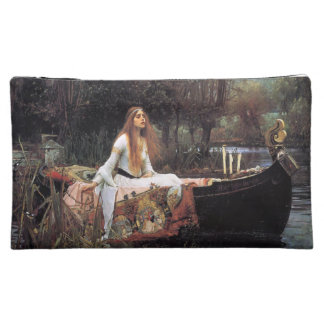 The lady of shalott painting makeup bag