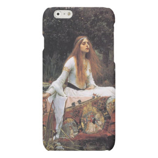 The lady of shalott painting matte iPhone 6 case