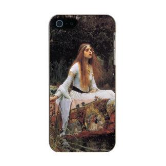 The lady of shalott painting metallic iPhone SE/5/5s case