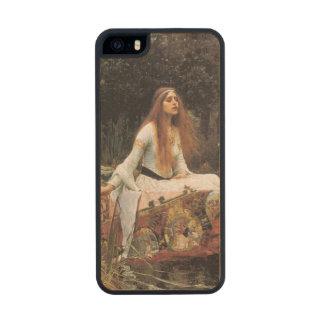 The lady of shalott painting wood iPhone SE/5/5s case
