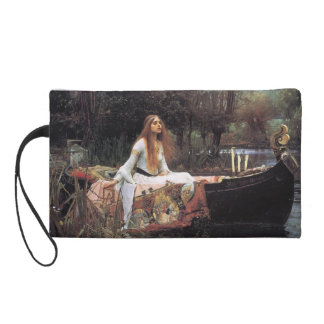 The lady of shalott painting wristlet purse