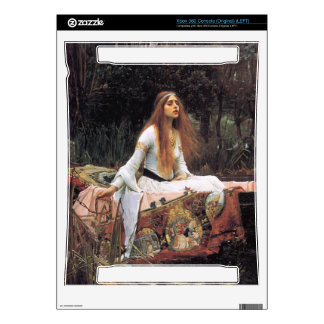 The lady of shalott painting xbox 360 decals