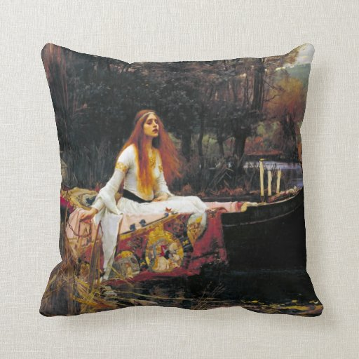 The Lady of Shalott Pillows