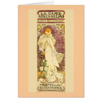 The Lady of the Camellias Card