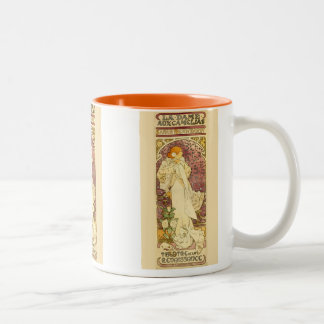 The Lady of the Camellias Two-Tone Coffee Mug