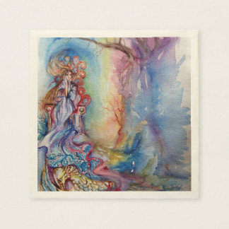 THE LADY OF THE LAKE PAPER NAPKIN