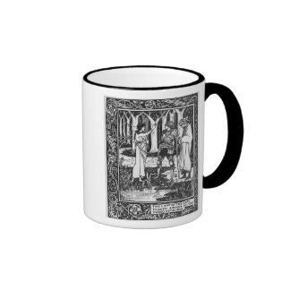 The Lady of the Lake telleth Arthur Coffee Mugs