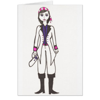 The Lady Pirate Card
